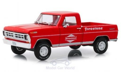 Ford F-1 1/24 Greenlight 00 Firestone 1971 miniature