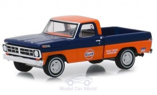 Ford F-1 1/64 Greenlight 00 Gulf 1971 miniature