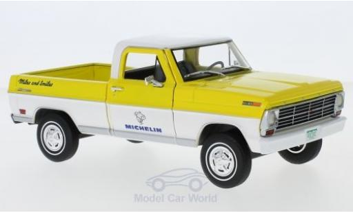 Ford F-1 1/24 Greenlight 00 Michelin 1968 miniature