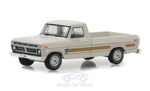 Ford F-1 1/64 Greenlight 00 Pick-Up blanche 1976 miniature