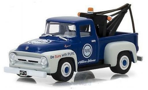 Ford F-1 1/64 Greenlight 00 Pure Oil 1956 miniature