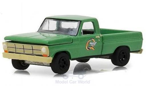 Ford F-1 1/64 Greenlight 00 Quaker State 1969 miniature