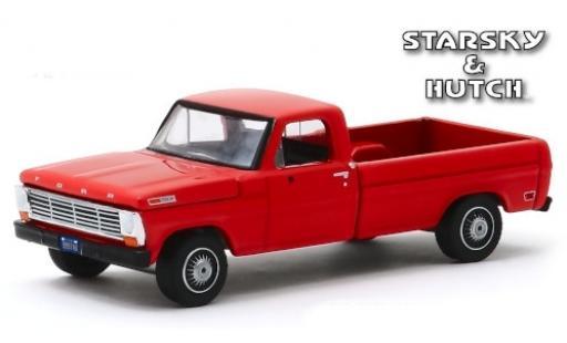 Ford F-1 1/64 Greenlight 00 rouge Starsky & Hutch 1969 miniature