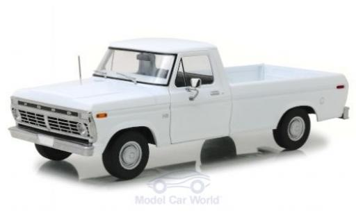 Ford F-1 1/18 Greenlight 00 blanche 1973 miniature