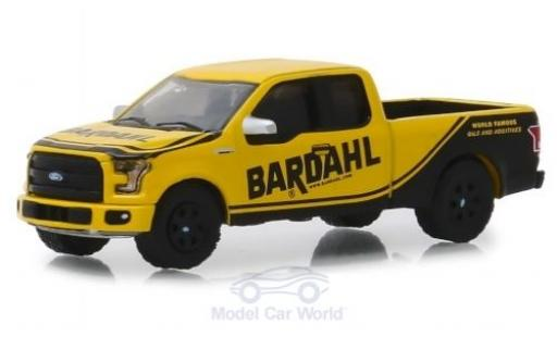 Ford F-1 1/64 Greenlight 50 giallo/nero Bardahl 2017 miniatura