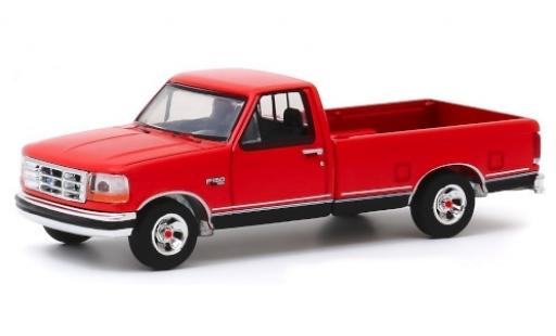 Ford F-1 1/64 Greenlight 50 rouge/noire 1992 Truck 75th Anniversaire miniature