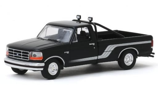 Ford F-1 1/64 Greenlight 50 noire/grise 1992 miniature