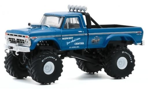 Ford F-250 1/43 Greenlight Custom Midwest Four Wheel Drive & Performance Center 1974 miniature