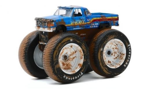 Ford F-250 1/64 Greenlight Monster Truck Bigfoot #7 1996 miniature