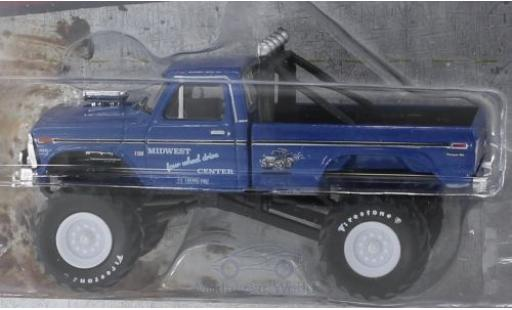 Ford F-250 1/64 Greenlight Monster Truck Midwest Four Wheel Drive & Performance Center 1974 miniature