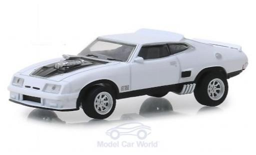 Ford Falcon 1/64 Greenlight XB white/black 1973 diecast model cars