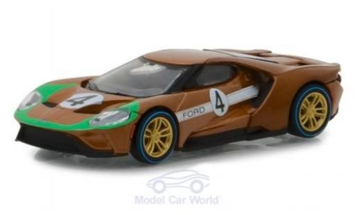Ford GT 40 1/64 Greenlight 2017 1966 40 MKII Tribute #4 miniature