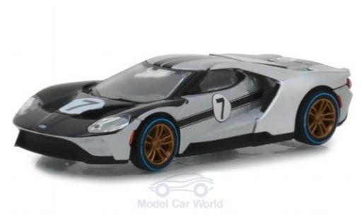 Ford GT 40 1/64 Greenlight 2017 1966 40 MKII Tribute #7 miniature