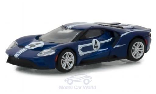 Ford GT 1/64 Greenlight 2017 1967 40 MKIV Tribute #4 miniature