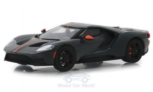 Ford GT 1/43 Greenlight Carbon Series grise 2019 miniature