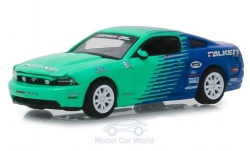 Ford Mustang GT 1/64 Greenlight Falken 2013 miniature
