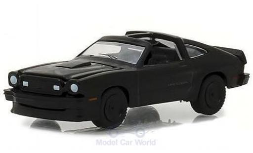 Ford Mustang 1/64 Greenlight II King Cobra matt-schwarz 1978 modellautos