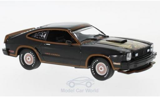 Ford Mustang 1/43 Greenlight II King Cobra noire/gold 1978 miniature