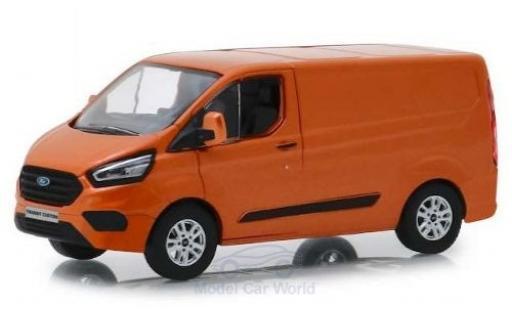 Ford Transit 1/43 Greenlight Custom (V362) MCA Sport métallisé orange 2018 miniature