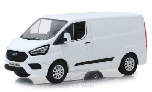 Ford Transit 1/43 Greenlight Custom (V362) MCA blanche 2018 miniature
