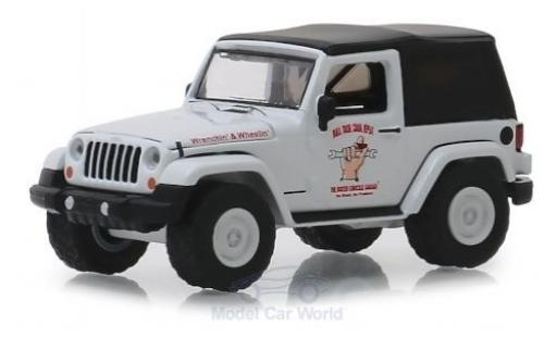 Jeep Wrangler 1/64 Greenlight Busted Knuckle 2012 miniature