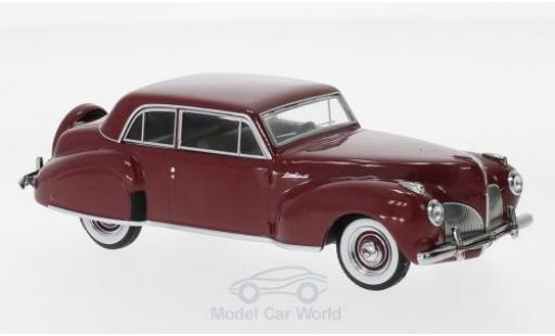 Lincoln Continental 1/43 Greenlight rouge 1941 miniature