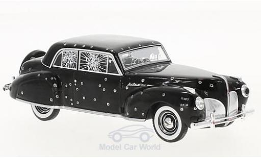 Lincoln Continental 1/43 Greenlight schwarz The Godfather 1972 1941 with Bullet Whole Damage modellautos