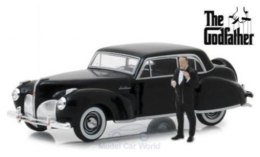 Lincoln Continental 1/43 Greenlight The Godfather 1941 mit Figur modellautos