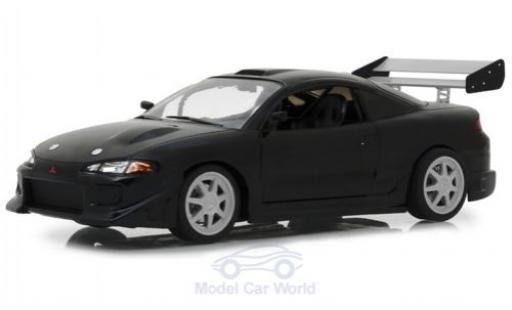 Mitsubishi Eclipse 1/18 Greenlight noire 1995 miniature