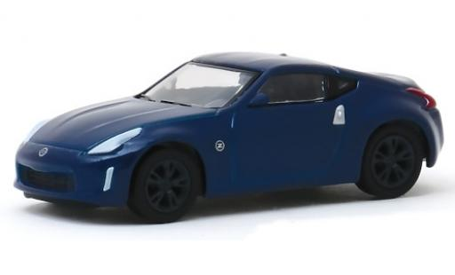 Nissan 370Z 1/64 Greenlight Coupe metallise bleue 2020 miniature
