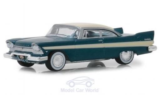 Plymouth Belvedere 1/64 Greenlight 1957 miniature