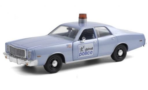 Plymouth Fury 1/24 Greenlight Detroit Police 1977 Beverly Hills Cop (1984) miniature
