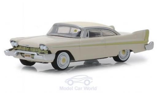 Plymouth Fury 1/64 Greenlight Golden Commando beige 1958 miniatura