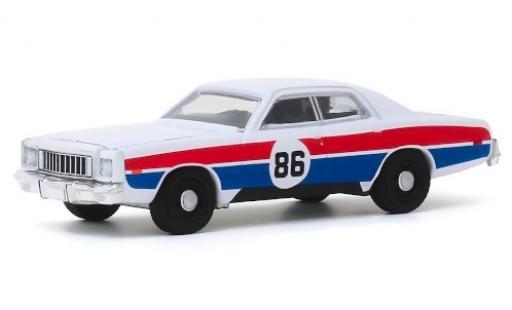 Plymouth Fury 1/64 Greenlight No.86 Hazzard County Road Rally 1976 miniature