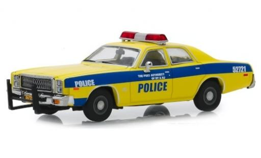 Plymouth Fury 1/43 Greenlight Port Authority of New York & New Jersey 1977 diecast model cars