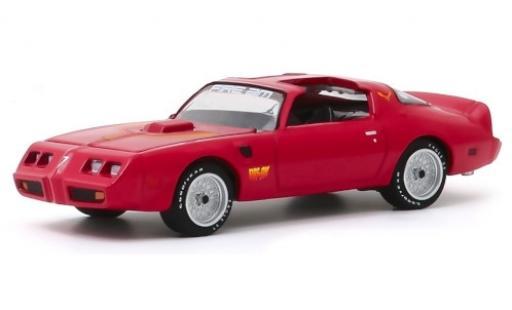Pontiac Firebird 1/64 Greenlight TA rouge/Dekor Fire Am 1979 miniature