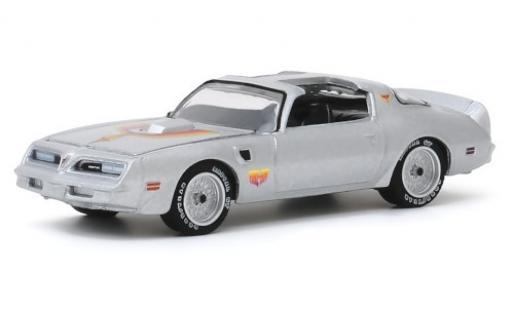 Pontiac Firebird 1/64 Greenlight TA grise/Dekor Fire Am 1979 miniature