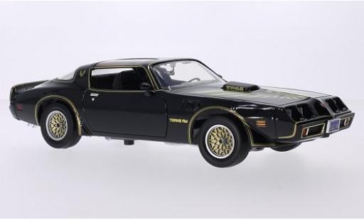 Pontiac Firebird 1/18 Greenlight Trans Am noire/Dekor 1979 Kill Bill Vol.I & II miniature