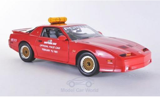 Pontiac Trans Am 1/18 Greenlight GTA Indy 500 Daytona 1987 Pace Car miniature