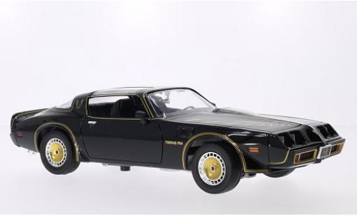 Pontiac Trans Am 1/18 Greenlight noire/Dekor 1980 Smokey The Bandit II miniature