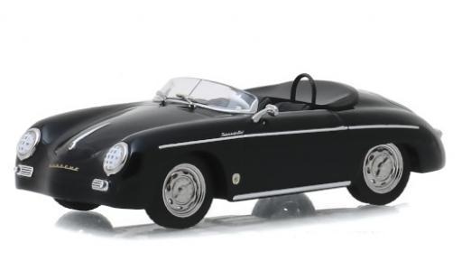 Porsche 356 1/43 Greenlight Speedster Super noire 1958 miniature
