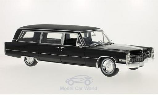Cadillac S & S 1/18 Greenlight Precision Limousine nero 1966 miniatura