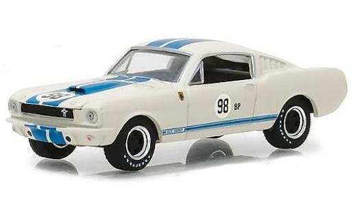 Shelby GT 1/64 Greenlight 350 1965 Terlingua Team Car 98BP miniature
