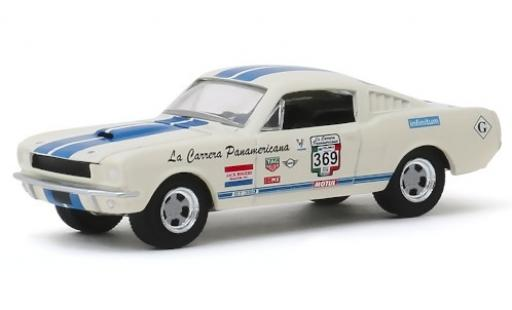 Shelby GT 1/64 Greenlight 350 No.369 Carrera Panamericana 1965 miniature