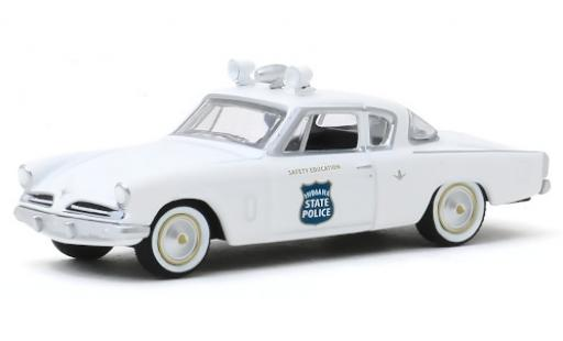 Studebaker Commander 1/64 Greenlight Coupe Indiana State Police 1953 miniature