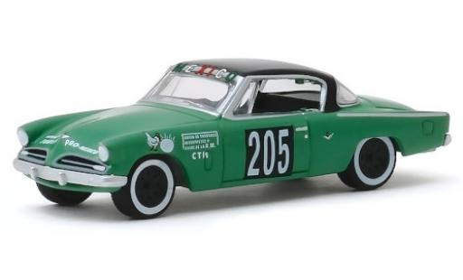 Studebaker Commander 1/64 Greenlight No.205 Carrera Panamericana 1953 miniature