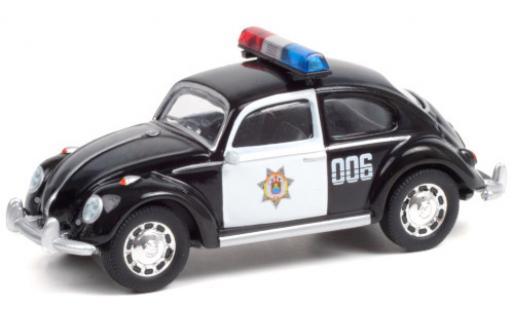 Volkswagen Beetle 1/64 Greenlight (Käfer) Veracruz Police No.006 miniature