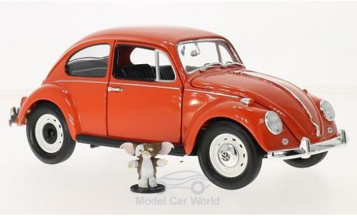 Volkswagen Beetle 1/18 Greenlight orange Gremlins 1967 mit Figur ohne Vitrine miniature
