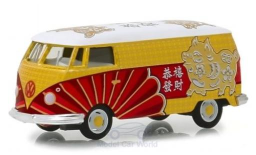 Volkswagen T1 1/64 Greenlight Kastenwagen 2019 - Year Of The Pig diecast