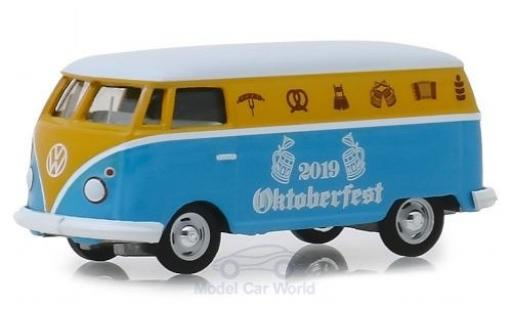 Volkswagen T1 1/64 Greenlight Panel Van Oktoberfest 2019 miniature